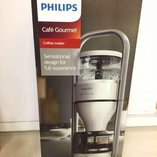 (降)飛利浦 PHILIPS Cafe Gourmet萃取大師咖啡機 HD5407