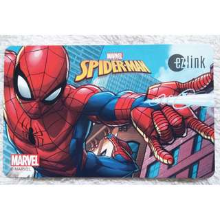 BRAND NEW Spiderman Ezlink card (Can Be Top-Up & Use)