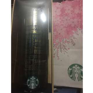 Starbucks PH 19th Anniversary Tumbler with SKU intact