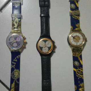 Swatch crono dan automatic
