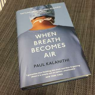 When Breath Becomes Air -- [Hardcover] by Kalanithi, Paul
