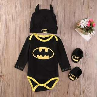 Po/Batman Romper