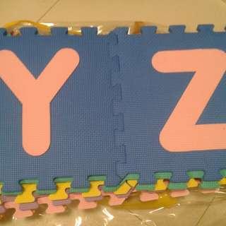Good as new alphabet mat