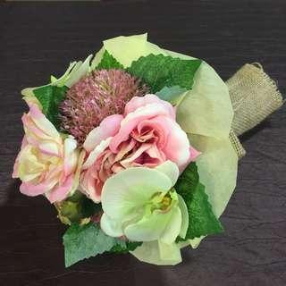 Nice size artificial bouquet