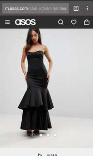 Black dress (Long dress)