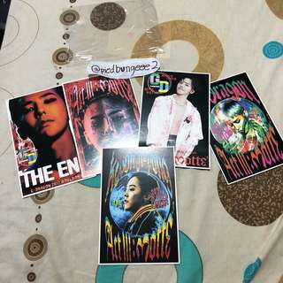 G DRAGON MOTTE PHOTOCARDS