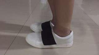 Black & White Slip On