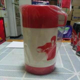 Pepsi x Leslie 張國榮水壺一個(紅色)