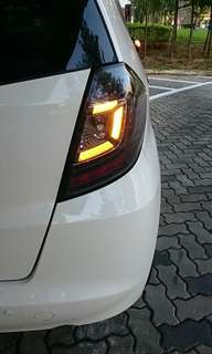 Honda jazz/Fit Ge model only Led taillight