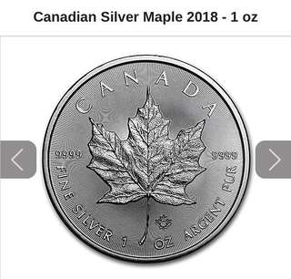 Canadian Sliver Maple