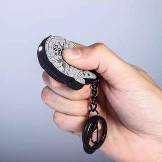 Star wars Millennium Falcon keychain torch