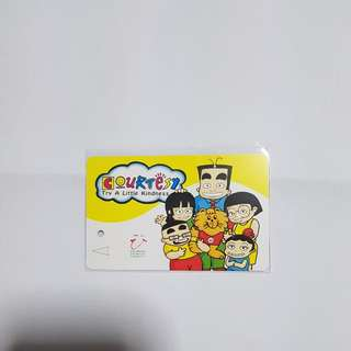 MRT Cards - Spore Coutesy Council