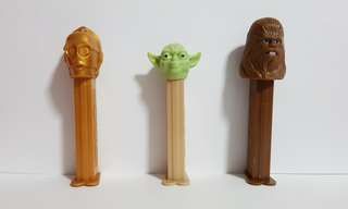 PEZ Star Wars Dispensers (Set of 3) Without PEZ Candy