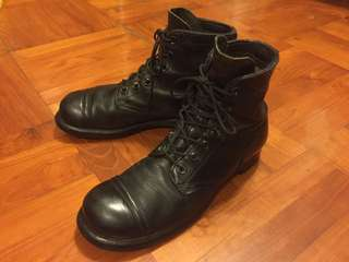 BFG Goodrich Military Boots classic 1961 style ARMY