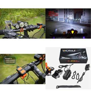 VICMAX A30 Head Lights for Escooters / Ebike /Bicycles