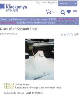 CTS: Diary Of An Oxygen Thief