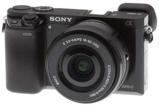 Sony Alpha A6000 Mirrorless Kit 16-50mm KREDIT MUDAH