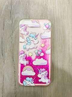 IPhone 6+ Unicorn Glitter Case