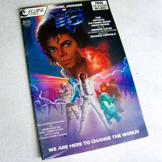Disney's Michael Jackson Captain E.O 3D Comic 1987