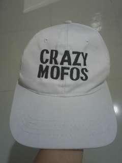 Crazy Mofos White Cap