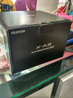 Fujifilm X-A3 Kit 16-50mm Mirrorless Kredit Mudah