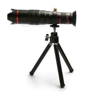 HX-S2208 22倍高質玻璃片手機遠攝鏡頭 附手機夾及脚架