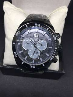 Jam Tangan Pria Original asli branded Merk ALEXANDRE  CHRISTIE Seri Ac 6215 Mc CaL 5040B Diameter 45mm