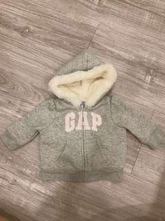 Baby Gap刷毛連帽外套