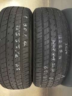 185/55/16 dunlop sport used tyre 2pc available 65% tread 1pc $30