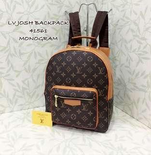 Louis Vuitton Josh Backpack Monogram