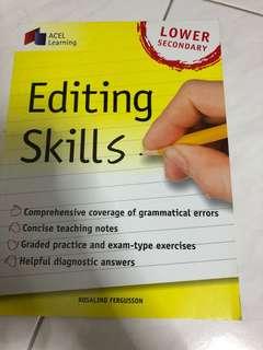 Lower secondary editing skills