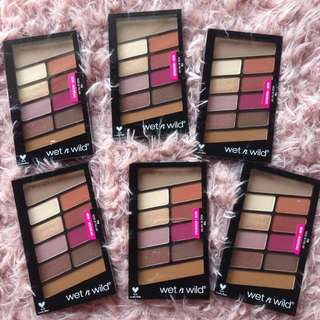 Readystock Wet n Wild Color Icon 10 pan Eyeshadow Palette