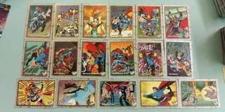 DC SUPERMAN 1993年 珍藏卡
