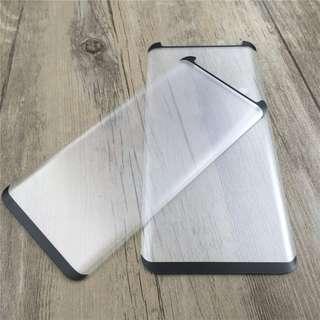 Samsung Note 8 S8 Plus Case Friendly Tempered Glass Matte