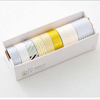 Gold + Silver Washi Tape Set [Pre-order]