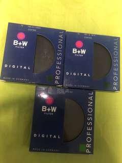 B+W Filter Neutral Density Filter 72mm