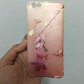 Pink Flower Softcase for iPhone 6/6S (Harry Styles Inspired)