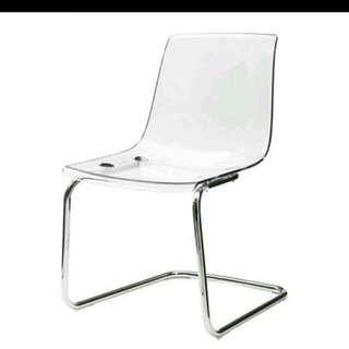 Ikeatobias 透明 鍍鑼椅  可用物品換哦