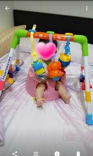 funfungym寶寶成長健力架