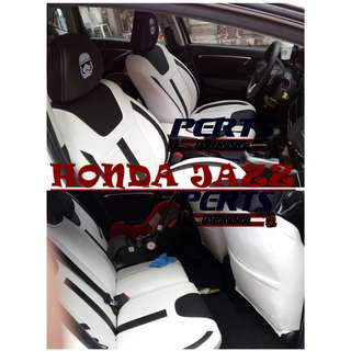HONDA JAZZ High quality Factory Fit Customized Leather CAR SEAT COVER