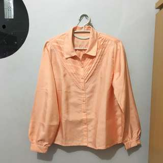 Vintage Orange Peach Shirt