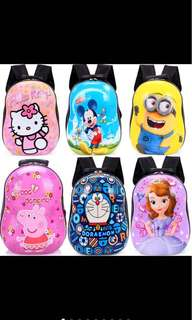 3D KIDS HARD COVER BACKPACK