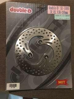 雙D牌200MM固定圓碟-高品質-DIO-VJR-RX-VJ-MANY專用-
