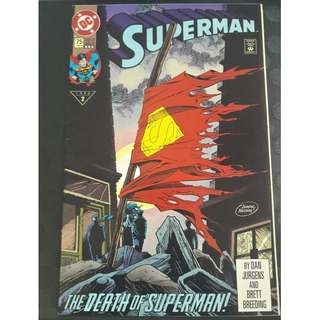 Superman #75 The Death of Superman