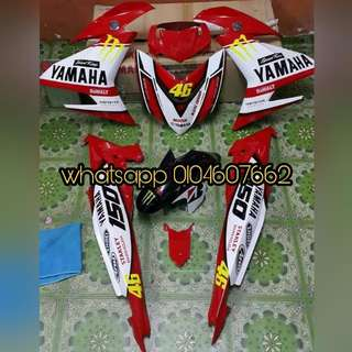 COVERSET CUSTOM AIRBRUSH YAMAHA Y15ZR