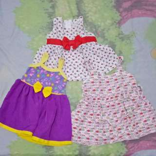Baby Dress 0-3, 3-6 months Take All