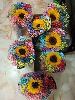 Graduation Bouquet/sunflower Bouquet