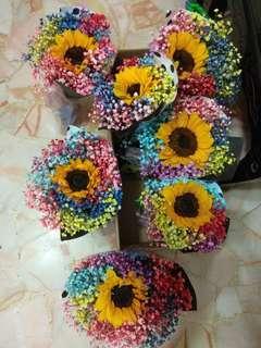 Graduation Bouquet/sunflower Bouquet