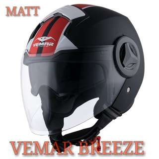 *PSB APPROVED VEMAR BREEZE MATT GRAPHIC HELMET..😎!!