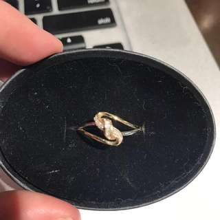 Gold & Diamond gorg ring